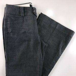 Banana Republic Trouser Gray Boot Cut Pants DS25